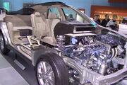 Lexus RX 400h cutaway model