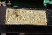 Motor Rail Ltd Simplex no. 9202 plate- IMG 2921