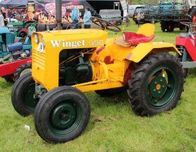 1970s Winget 550 Tractor Diesel