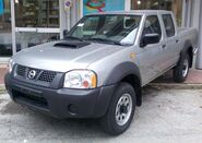 2010 Nissan NP300 front