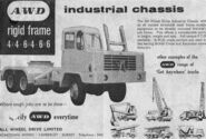 A 1970s AWD 6X6 Lorry Model Range