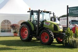 Claas Arion 420, The Royal Norfolk Show 29-06-2011
