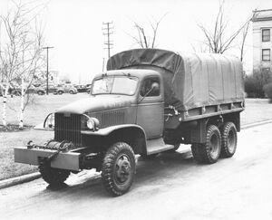 GMC 2 Half-ton 6x6 Truck