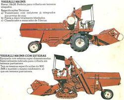 Vassalli 900 JMR combine w treads & w wheels brochure