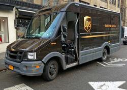 2012 Isuzu Reach (UPS), NYC