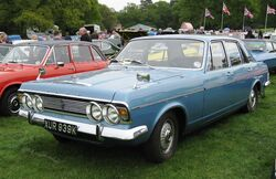 Ford Zodiac MkIV first registered November 1971 2994cc
