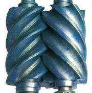 Lysholm screw rotors