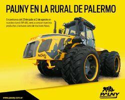 Pauny 580 Novo 4WD - 2015