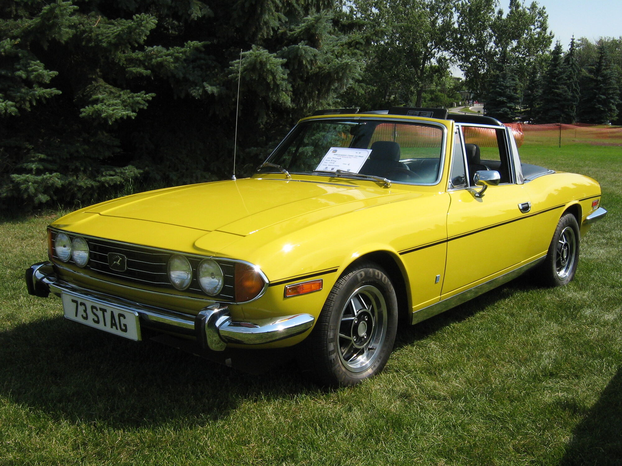Triumph Stag   Tractor & Construction Plant Wiki   FANDOM powered by ...