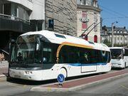 Trolleybus Cristalis ligne 4