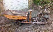 A 1950s Allen Of Oxford Autoculto Garden Tractor