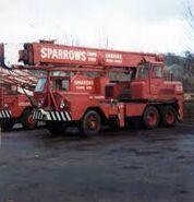 A 1970s ALLEN-GROVE T10 Cranetruck Diesel 6X4