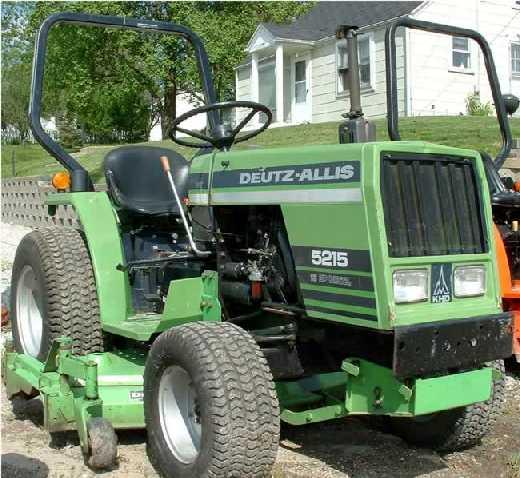 Deutz-Allis 5215 | Tractor & Construction Plant Wiki | FANDOM ...