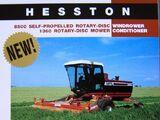 Hesston 8500