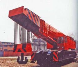 IRON FAIRY 500P Railway Crane Diesel