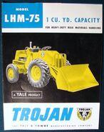 Trojan LHM-75 brochure
