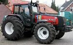 Valmet 8150 Mega MFWD (red w stripes)