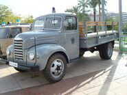 1960s Restored EBRO B35 Diesel lorry
