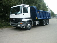 Actros tipper