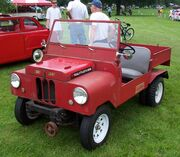 Crosley Farm O Road without front bumper