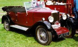 Riley Nine Tourer 1930