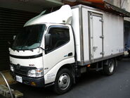 Taiwan Hino 300 415 truck left-front