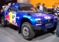 VW Race Touareg 2 blue vr EMS