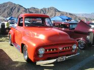 1954 Ford F-100 Red