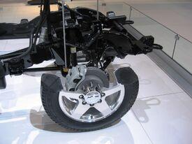 2011 Chevy Silverado cutaway frame