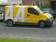 AA Vauxhall Vivaro Van 2008
