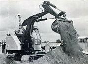 A 1960s Priestman Brothers Digger Diesel