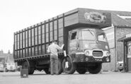 A 1960s Rowe Hillmaster Farmlorry Diesel with Dualsteering