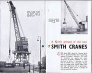 A 1970s Smith Of Rodley Crane Catalogue