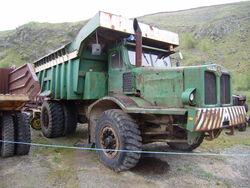 Aveling-Barford dump truck