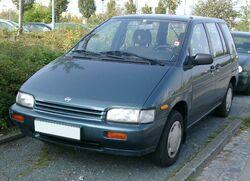 Nissan Prairie front 20071004