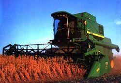 SLC - JD 1185 combine - 2001