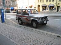 Daihatsu Rocky, Gothenburg