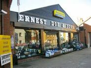 ERNEST DOE & SONS former factory now a shop