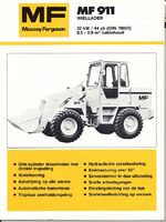 MF 911 wheel loader