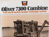 Oliver 7300 combine