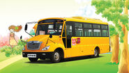Sunlong SLK6800 School bus