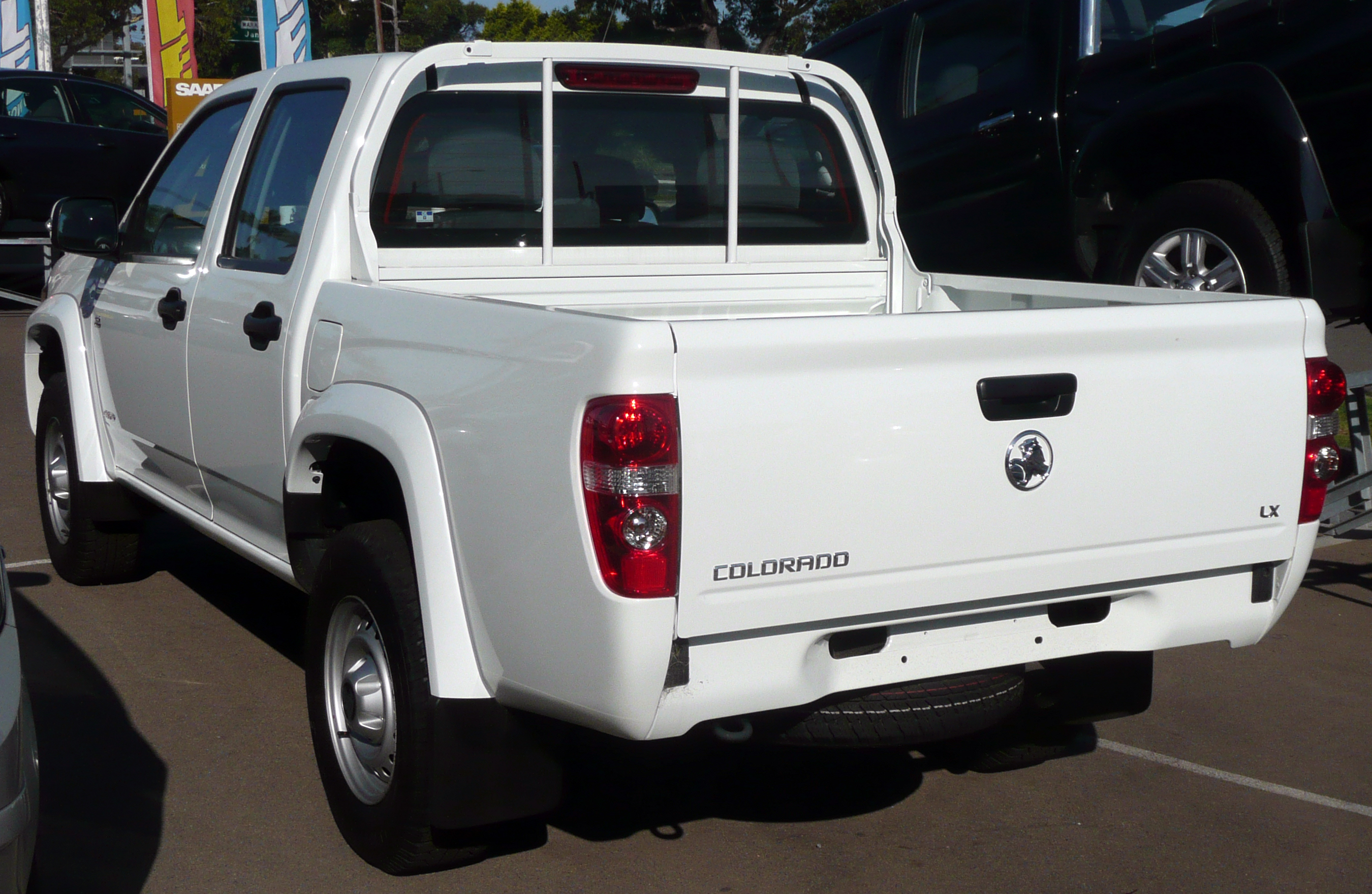 2008 Holden RC Colorado LX Crew Cab 4-door utility (Australia)