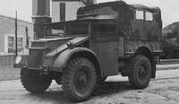 A 1940s GUY Quad-Ant 4x4