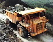 A 1980s Aveling Barford RD55 Quarry Dumptruck Diesel