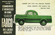 Fargo DeLuxe Utility (Australia) - 1948