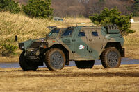JGSDF Light Armored vehicle 20070107-02