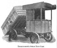 A 1900 Thornycroft Dustcart Steampowered
