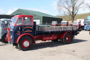 Atkinson - (KVA209) flatbed with Cowans Sheldon cranes crate at KSB cv rally 2013 IMG 8008