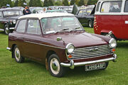 Austin A40 MkII front