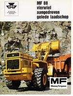 MF 88 wheel loader